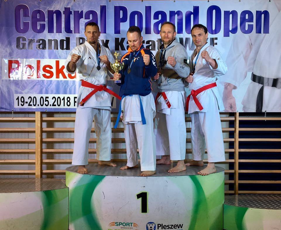 Central Poland Open Grand Prix Karate WKF  – Pleszew 19/20.05.2018