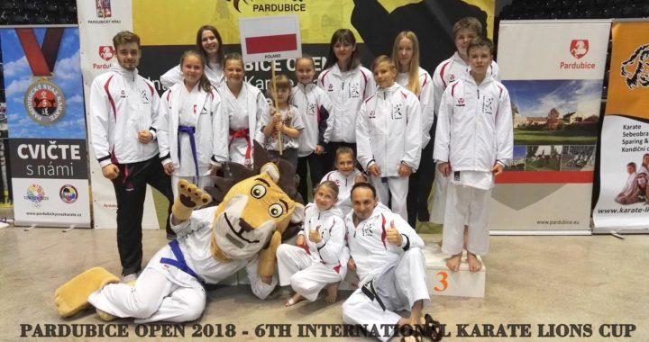 Pardubice Open 2018 – VI International Karate Lions Cup – Czechy