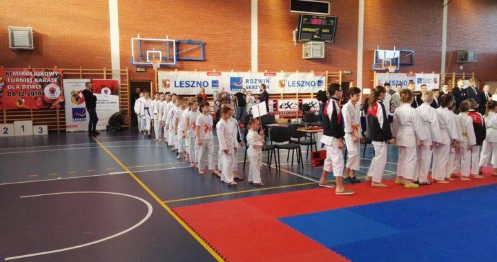 XI Mikołajkowy Turniej Karate dla Dzieci – Leszno