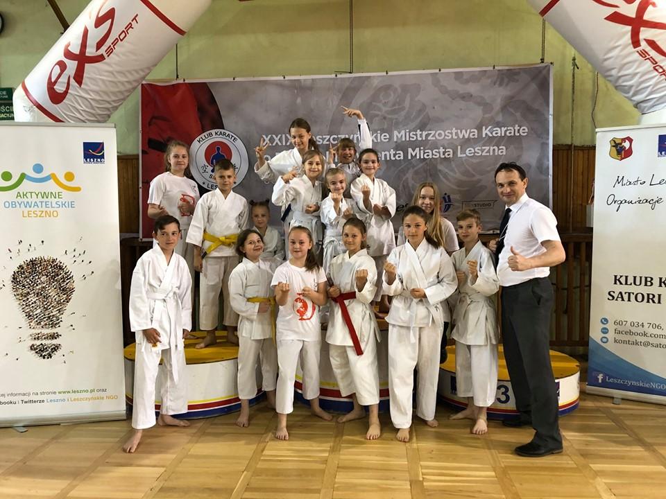 XXIX Leszczyńskie Mistrzostwa Karate o Puchar Prezydenta Leszna
