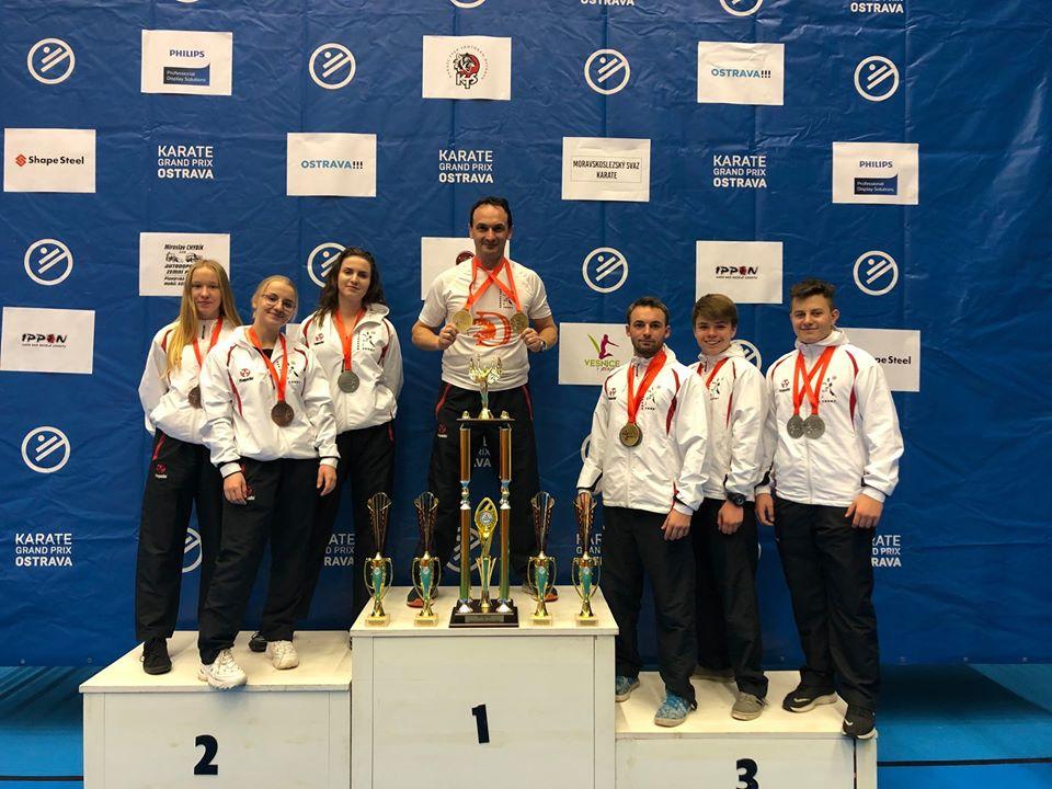 The Best Team International Karate Grand Prix Ostrawa Open