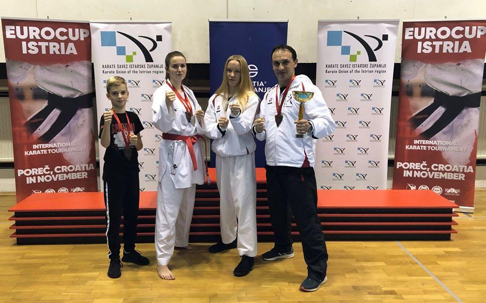 21 EUROCUP ISTRIA International Karate Tournament Chorwacja